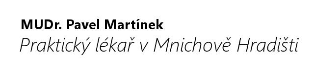 Ordinace Martínkovi